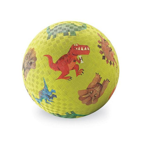 7-inch PLAYGROUND BALL/DINOSAURS GREEN