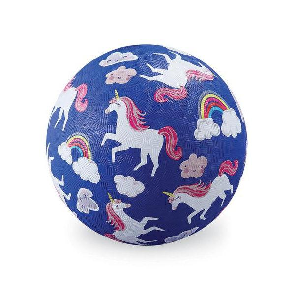 "7""  PLAYGROUND BALL-Unicorns"