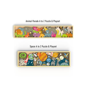 A-Z Bundle – Space A-Z and Animal Parade