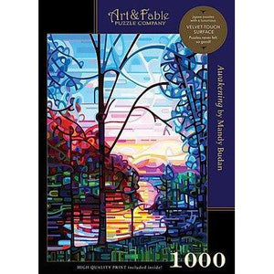 Awakening - 1000 Piece - Velvet-Touch Puzzle; art by Budan