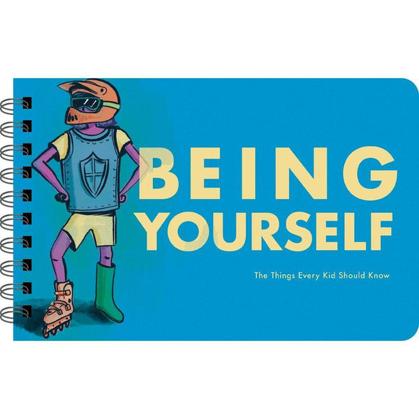 Being Yourself Book Cover - The Things Every Kid Should Know
