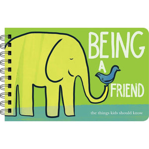 Being A Friend Book Cover