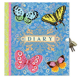Diaries with Lock and Key
