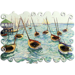 Hayle Lever - Dancing Boats - Heirloom-Quality - Wooden Jigsaw Puzzle