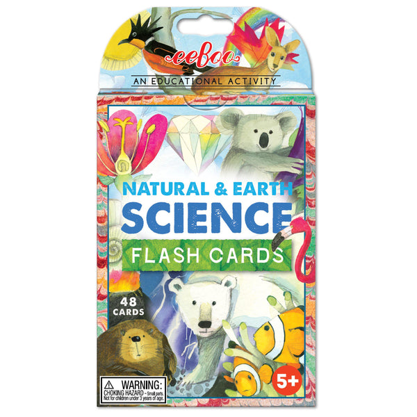 Flash Cards - Natural & Earth Science