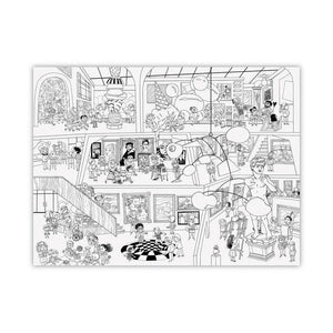 "Giant Coloring Poster - 44""w x 33"""