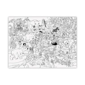 "Giant Coloring Poster - 44""w x 33"" l"