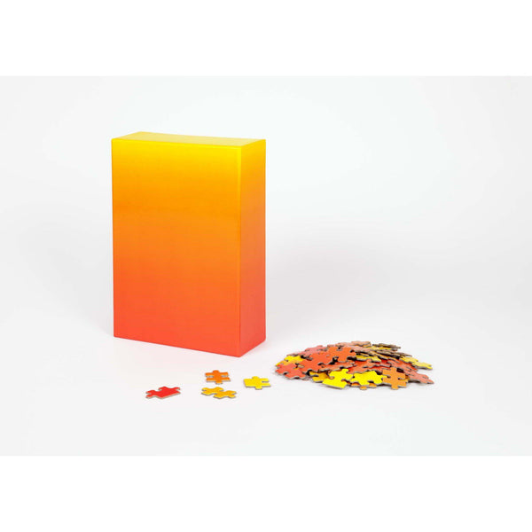 Gradient Puzzle - Red/Yellow - 500 piece