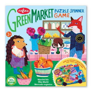 Green Market Spinner Game
