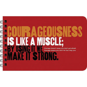 Grit For Boys and Young Men Sample Page - Courageousness is like a muscle; by using it we make it strong