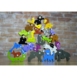 Animal Parade A to Z Puzzle and Playset