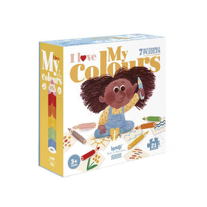 I Love My Colors - Shape & Reversible Jigsaw - 21 pieces