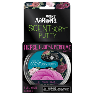 VibesSCENTsory Putty - Flower Power - Fierce Floral Perfume Scented