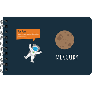 Our Solar System sample page: Mercury fact