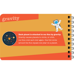 Our Solar System sample page: Gravity