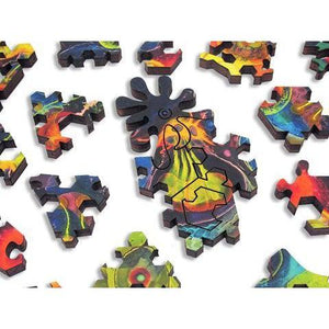 Bruce Riley Stem Cell - Heirloom-Quality - Wooden Jigsaw Puzzle
