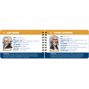 The Presidents sample page - Adams and Jefferson