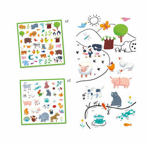 Stickers - Animals (160 stickers)