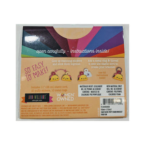 Puffy Charms Bracelet - Food Fun-Single Package