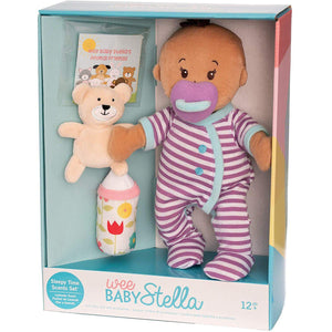 Wee Baby Stella - Beige Doll - Sleep Time Scents Set