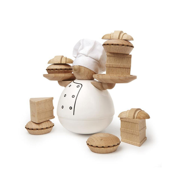 STACKING GAME - BALANCE THE BAKER