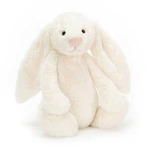 Bashful Cream Bunny - Large