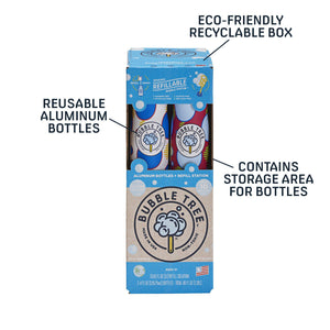 Eco-Friendly Bubbles - 2 Bottles with Refill