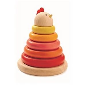 Cachempil Hen - Stacking Toy
