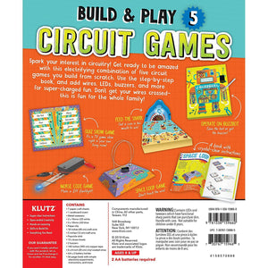 Circuit Games back of box
