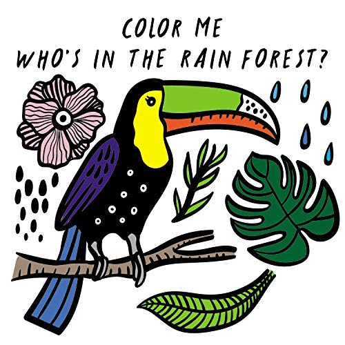 Color Me - Who's In the Rainforest