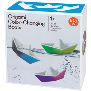 Kid O - Color Changing Origami Boats (4 ct)