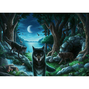 Escape Puzzle - Curse of The Wolves - 759 pieces