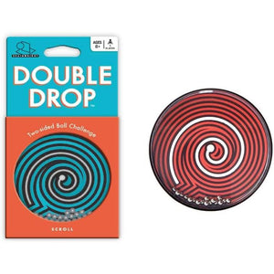 Double drop puzzle scroll puzzle front and back
