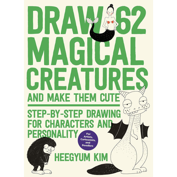 Draw 62 Magical Creatures | Kim