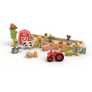 Farm A to Z Puzzle and Playset
