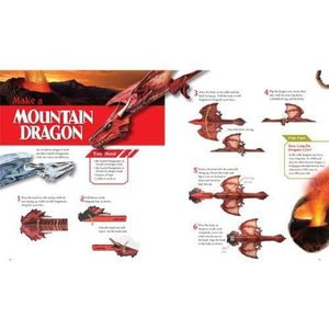 Sample page with information about mountain dragons.