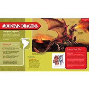 Sample page with more information on mountain dragons.