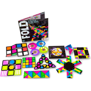 All ten of the foldable puzzles included in Fold.
