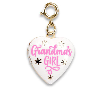 Charm It - Gold Grandma's Girl Locket Charm