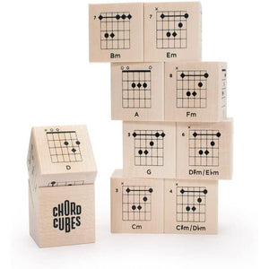 Chord Cubes - Guitar Blocks