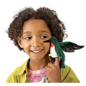 Mini Hummingbird - Finger Puppet