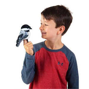 Mini  Chickadee - Finger Puppet
