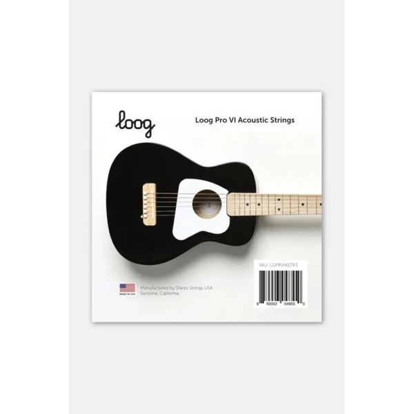 Loog Pro VI Acoustic Guitar Strings