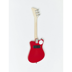 Loog Mini Electric Guitar with Built-In Amp - Red - Age 3+