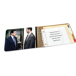 "Michael Scott ""Quotes to Live By"" Book - The Office"