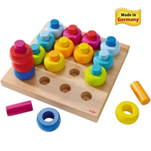 Rainbow Whirls Pegging Game