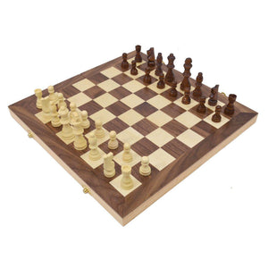 "15"" Wooden Chess Set"