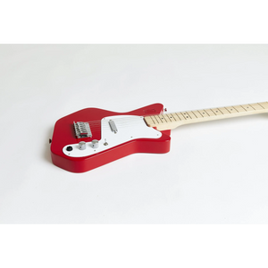 Loog Pro VI Electric Guitar with Built-In Amp - Red - Age 12+
