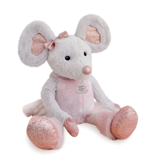 Histoire D'ours Little Twist Glitter Star Mouse - Large - 23.6 inches