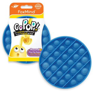 Go Pop Roundo! The Clever Popping Game - Blue